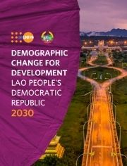 Demographic Change For Development Lao People's Democratic Republic 2030