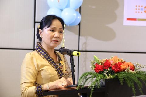 H.E. Ms. Inlavanh Keobounphan, President of Lao Women Union