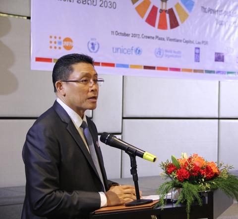 H.E. Dr. Kikeo Chanthabuly, Vice Minister of MPI