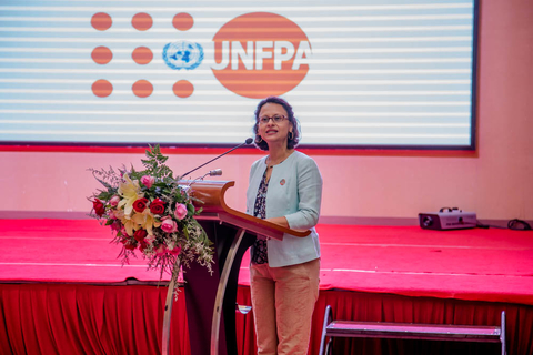 Ms. Mariam A. Khan, UNFPA Representative  in Lao.