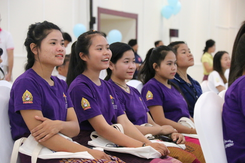 Mentors of Nang Noi - Girls' Group in Sepon District, Savannakhet Province