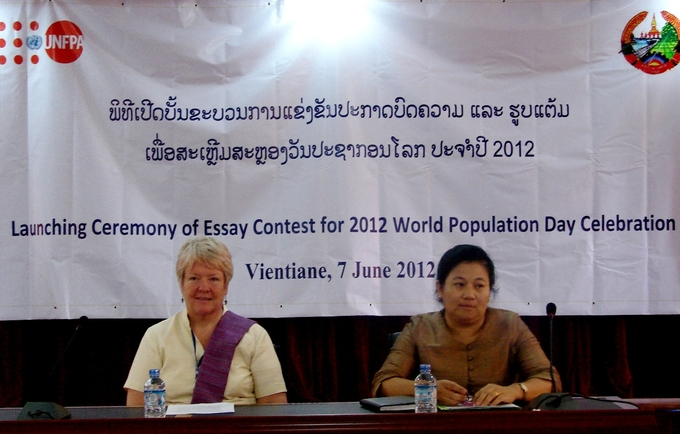 unfpa lao people s democratic republic essay contest about young  vientiane lao pdr the ministry of planning and investment mpi and unfpa the united nations population fund for third year in a row launched an essay